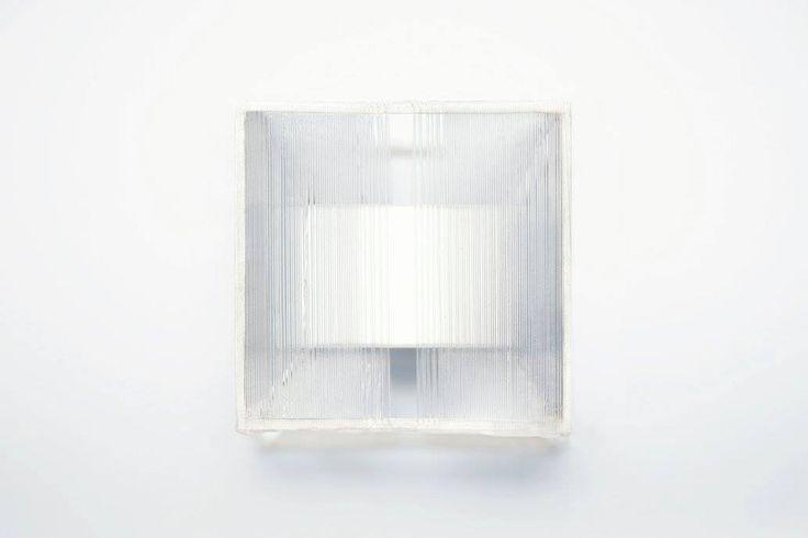 Inai Tsubasa (JP) Ring - Acrylic, nylon cord, mirror film.