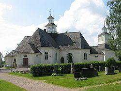 Church, Ilmajoki, Finland.