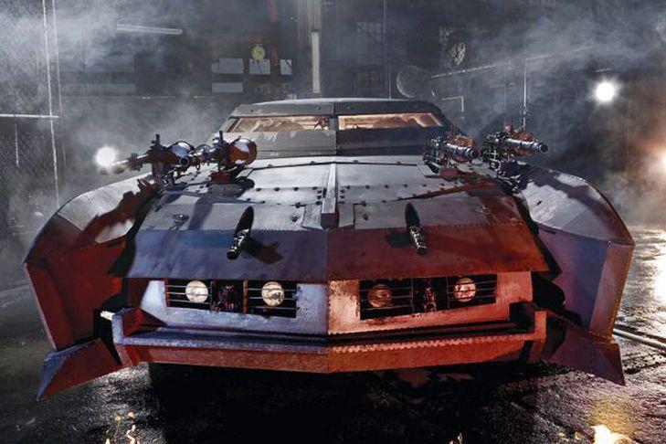 Death Race  Apocalypse Cars
