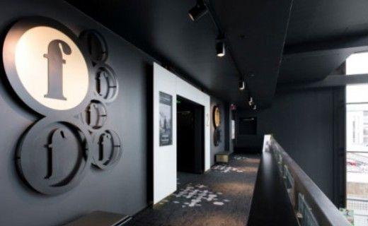 Sisustusarkkitehtitoimisto dSign Vertti Kivi & Co. Finnkino, design