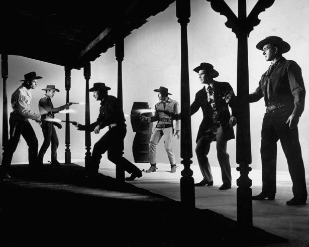"""Stars of the numerous TV Westerns of the 1950s, my favorite of the bunch is Richard Boone as """"Paladin"""" from """"Have Gun Will Travel."""" A cool actor. 