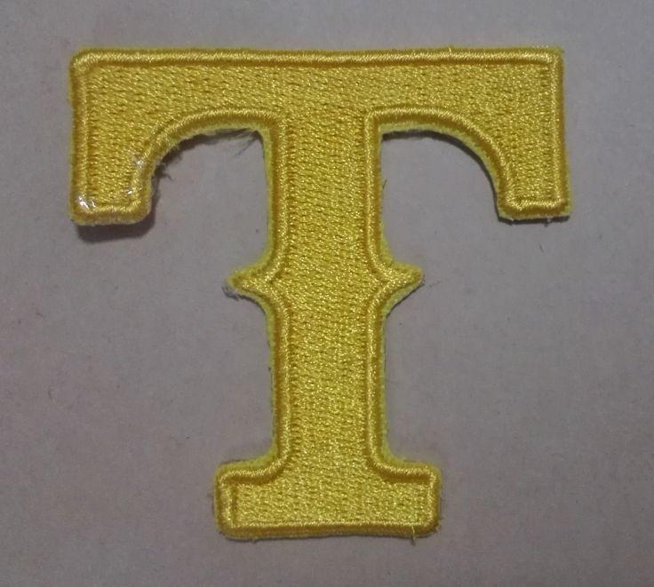 Горячая распродажа! вышивка патчи сша млб открытый мл * спорт желтый утюг на 5.8 см * 5.8 см техасские рейнджеры