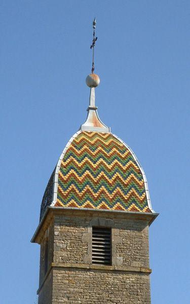 Clocher d'une église de France : 70373 - La Roche-Morey