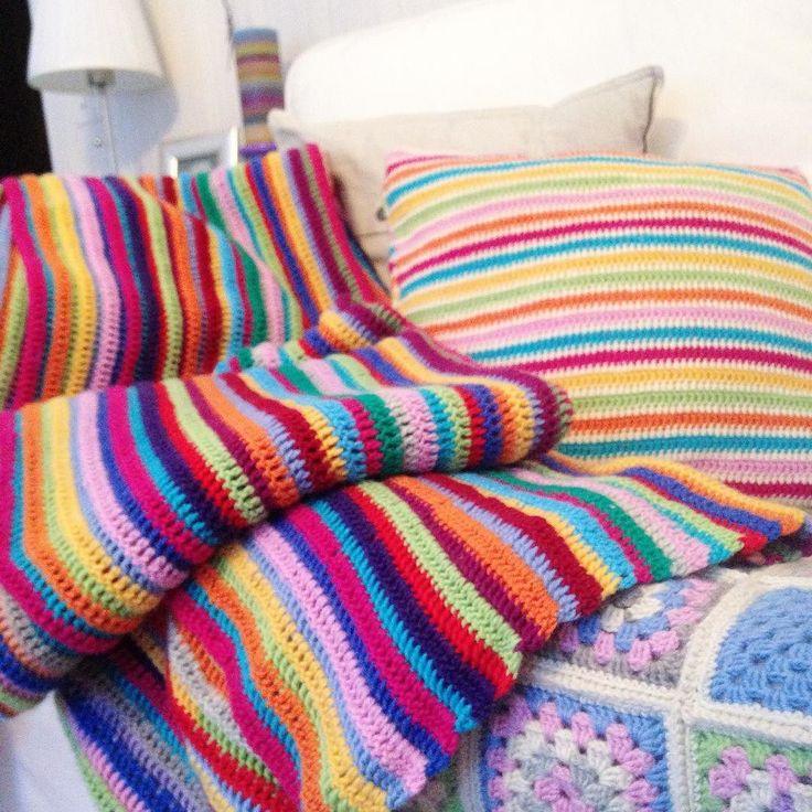 Love #finallyready #crochetblanket #stripeblanket #stripes #ilovestripes #iloveit #goodmorning #havealovelyday #virkkaus #virkkaaminen #isoäidinneliö #isoäidinneliöt #isoäidinneliöpeitto #virkattupeitto #raitapeitto #raitoja #värikästä #colour #colours #colourful #vihdoinkinvalmis #yarn #yarnlove #yarnaddict #novita #7veljestä #seitsemänveljestä #seiskaveikka #grannysquares #grannysquareblanket by sannaurkko