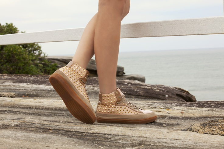 LITHIUM in pink/studs - $119.95