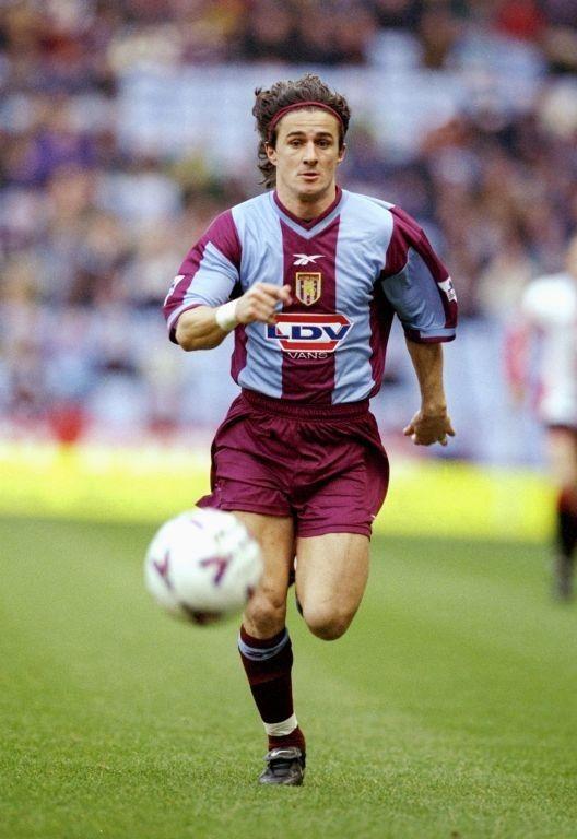 Benito Carbone of Aston Villa