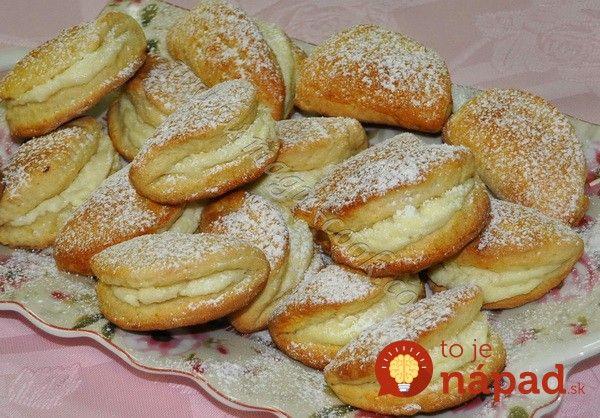 Jablkové taštičky s tvarohom – rýchly a jednoduchý dezert, keď nebudete vedieť, čo s jablkami!