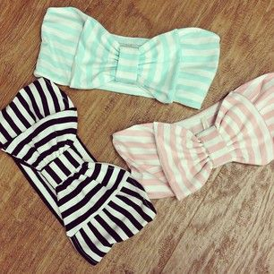 Cute with bows :)