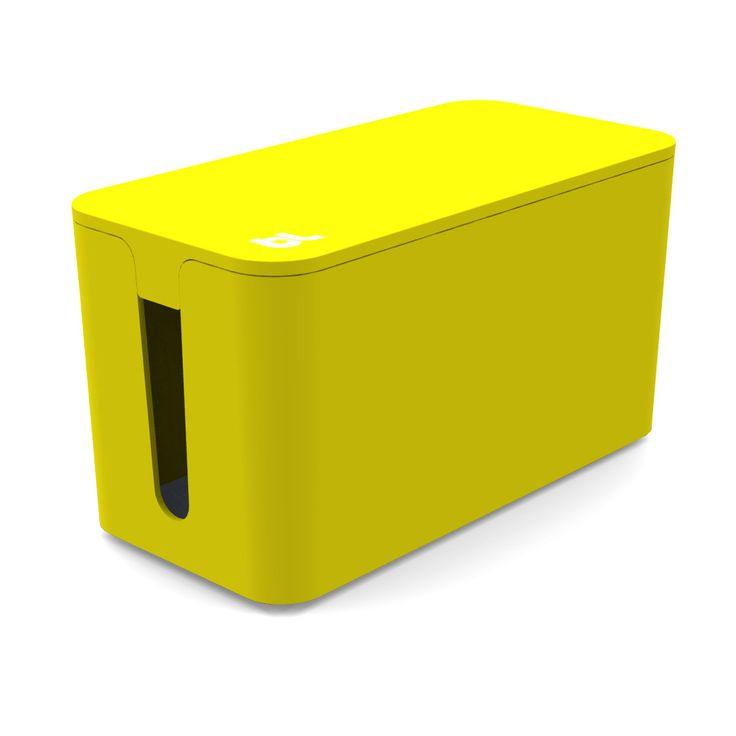 Kabelbox - immer ein guter Trick für weniger Kabelsalat - aber sieht man das auf dem Foto?