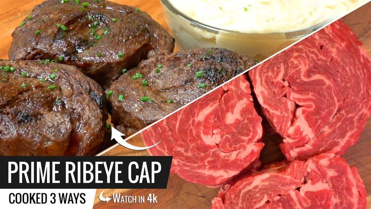 Best Way to Cook PRIME RIBEYE CAP Steak Sous Vide and Joule by ChefSteps...