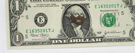 One Dollar Bill Art by Atypyk 11 – #Art #Atypyk #b…