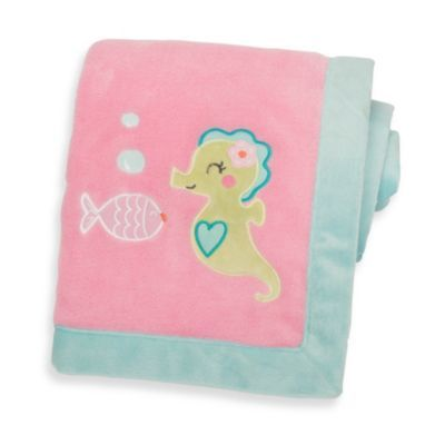 Carter's™ Under the Sea Embroidered Blanket - BedBathandBeyond.com