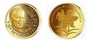 nelson mandela gold coin exchange