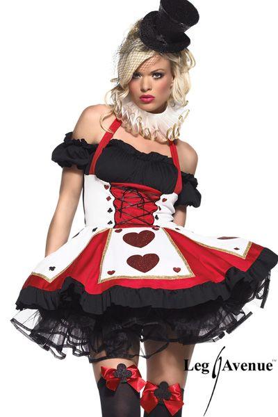 Poker Girl et Cirque Costume Joueuse de Cartes #legavenue #costumes #déguisement #halloween