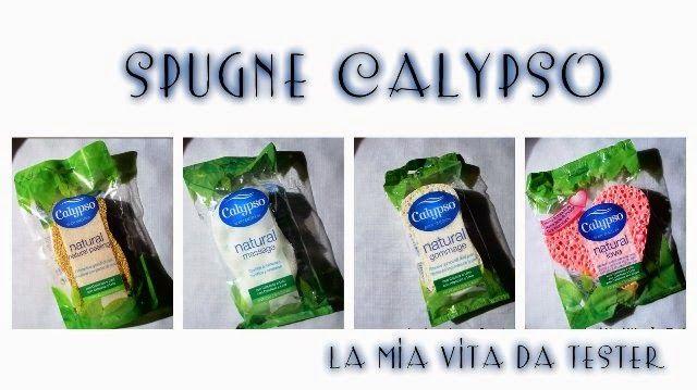 La Mia Vita Da Tester: Review: Calypso Spugne da Bagno