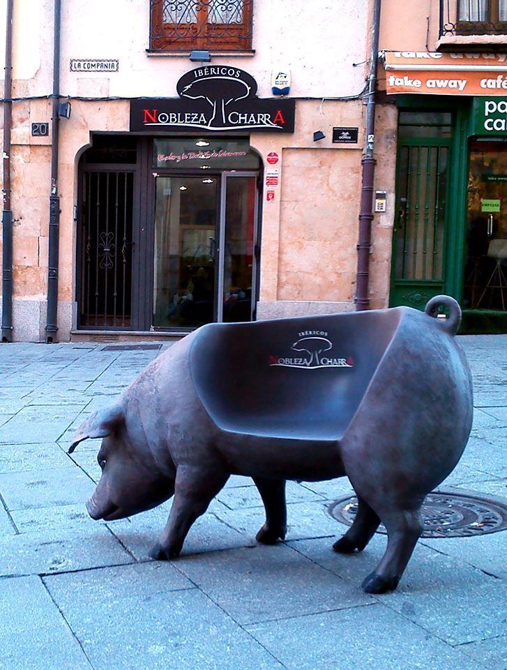 """Biblioteca Pública de Salamanca """"Casa de las Conchas"""" en Salamanca, Castilla y León"""