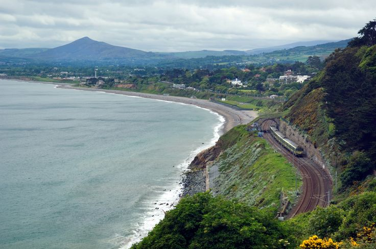 Take a ride on the DART from Bray to Howth and enjoy the stunning seaside scenery along the way
