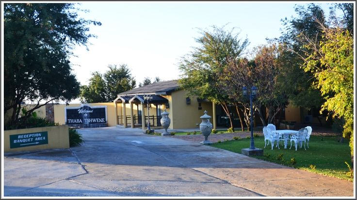 Thaba Tshwene Game Lodge: Portion 17 of the Farm Buisfontein,  Hartebeesfontein  Reception:           082 896 2452 After Hours:  Manager   -   079 899 3464