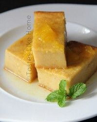 Breadfruit Pudding with Orange-ginger Syrup Photo by Cynthia Nelson