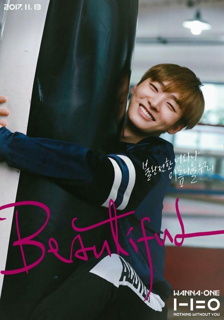 Wanna One | Beautiful MV poster | Jisung
