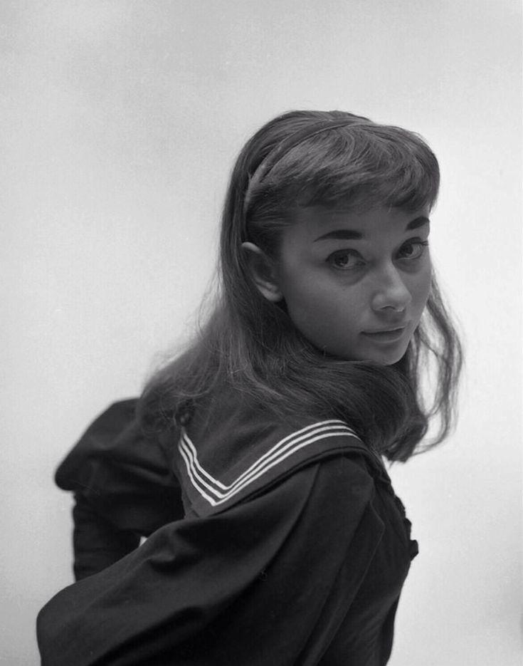 Audrey in a publicity shot for 'Gigi' (1952).... - audreyhepburnforever