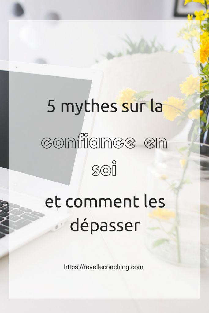 On croit souvent qu'on manque de confiance en soi car on n'a pas encore de clients. Et pourtant c'est l'inverse ! Je vous partage 5 mythes sur la confiance.