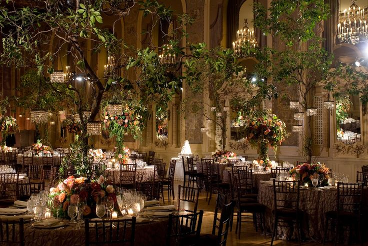 indoor garden wedding bring the outdoors in wedding