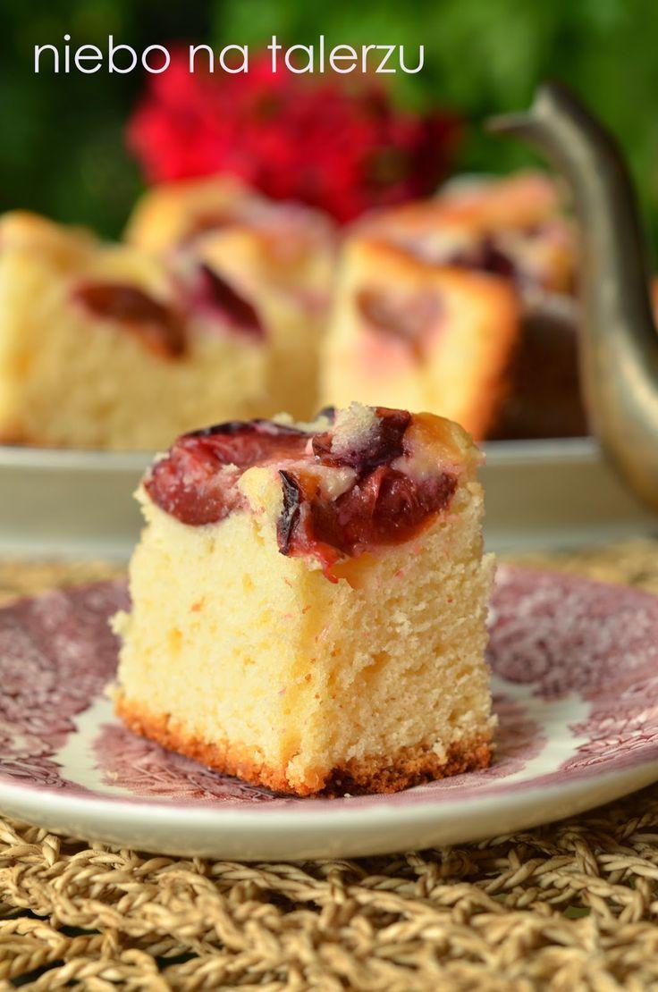 niebo na talerzu: Łatwe ciasto ze śliwkami