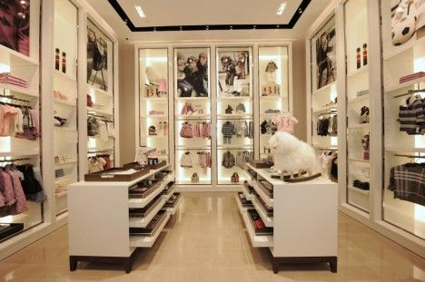 A closet is like a store, only better because everything is your style and size.