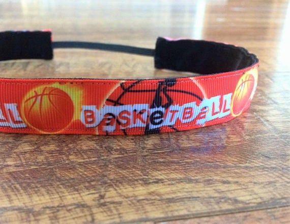 Basketball Stirnbänder. Mädchen Basketball. Sportliches Stirnband. Basketball-Geschenke. Mädchen Basketball Headba   – Products