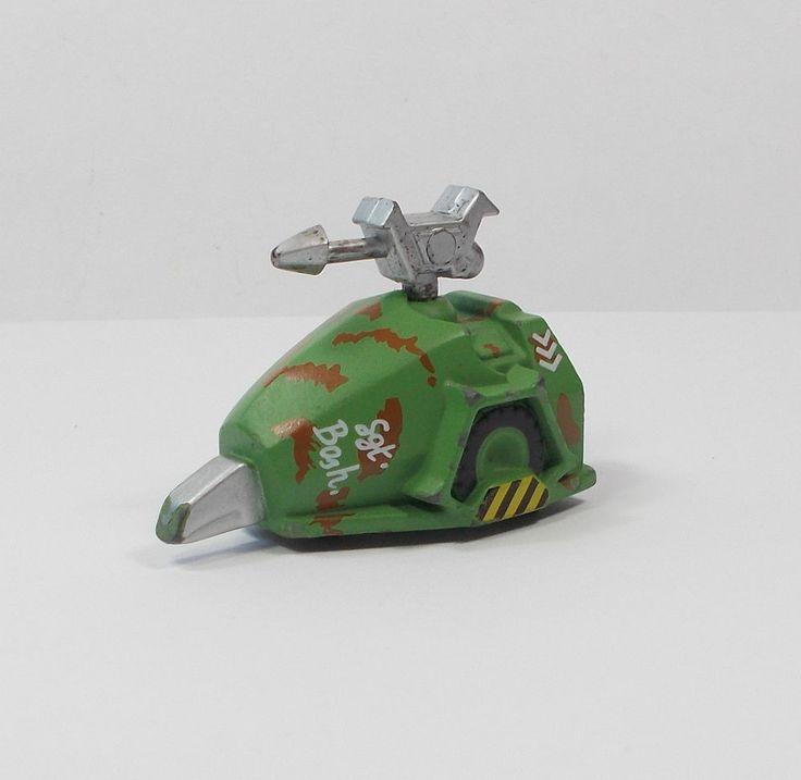 Robot Wars - Sgt. Bash - Minibots - Toy Figure - BBC 1998 Logistix