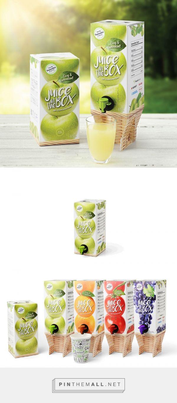 Elevated Drink Box packaging design by Metsä Board - http://www.packagingoftheworld.com/2016/09/elevated-drink-box.html