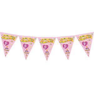 Banderina 1° Compleanno bambina pz.1   Europarty
