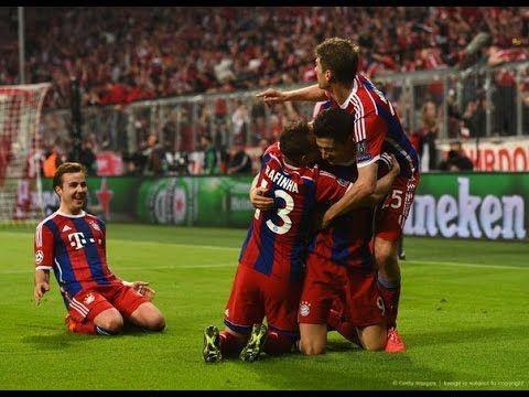 2015 Champeons Legue VF: Bayern München - Porto 6:1