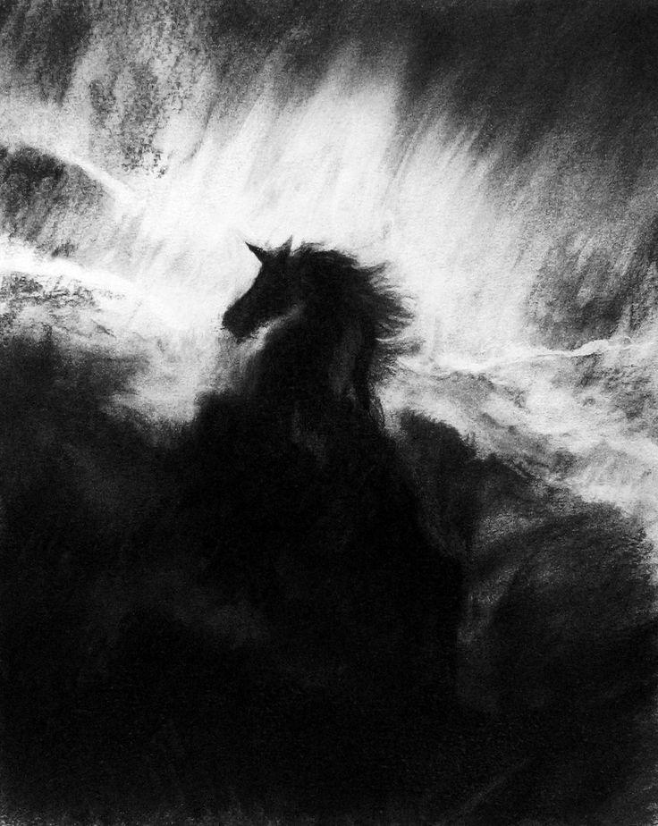 Unicorn sketch, 2016