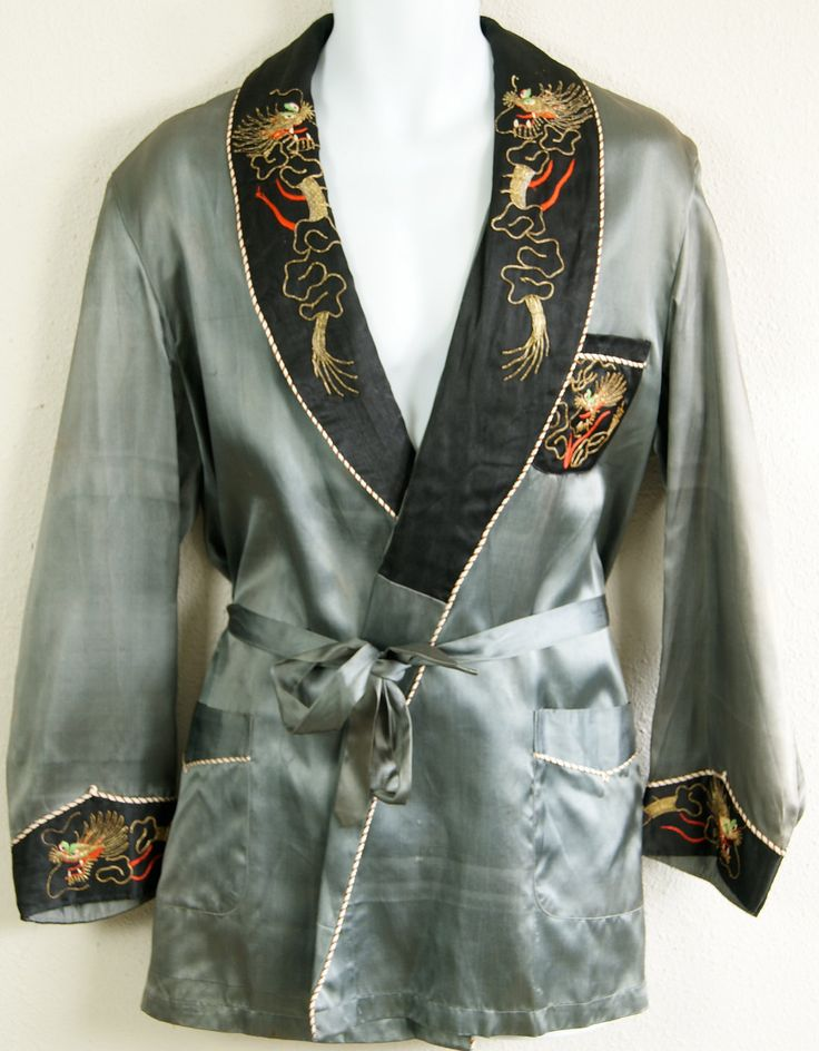 GORGEOUS vintage Smoking Jacket