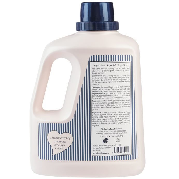 Noodle Boo 100 Fl Oz Baby Laundry Detergent Baby Laundry Detergent Baby Laundry Laundry Detergent