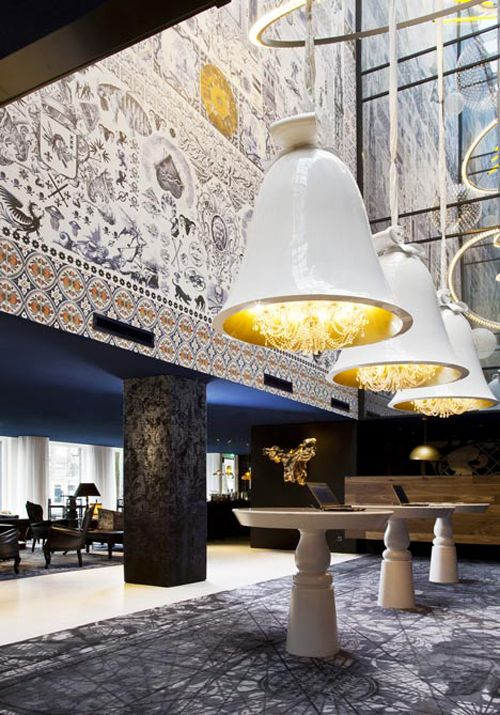 Andaz Hotel Amsterdam, designed by Marcel Wanders