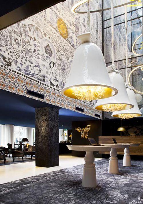 Andaz Hotel Amsterdam, designed by Marcel Wanders