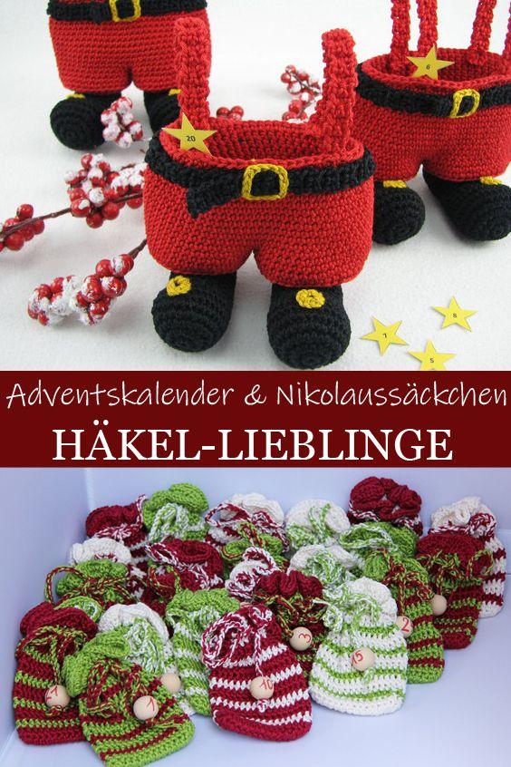 Blog Lieblinge Unfancy: Häkel-Lieblinge: Nikolaussäckchen Und Adventskalender