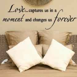 Wall Quotes for the Bedroom---From famous love quotes to romantic ...