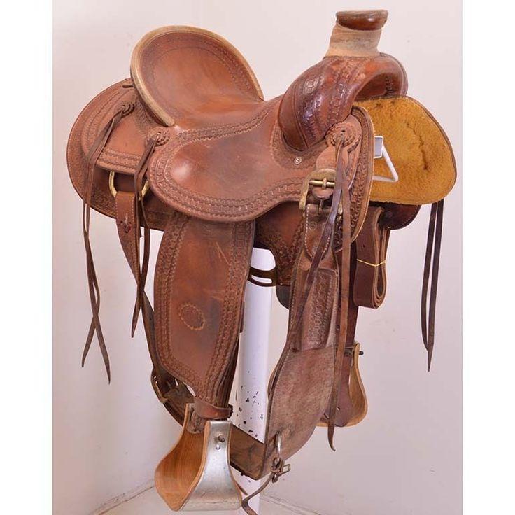 "Used 15.5"" Billy Cook Saddlery Ranch Saddle Code: U155BCOOKRANWP #BillyCook"