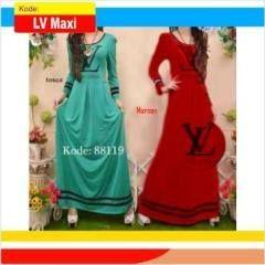 Jual Baju maxi dress bahan spandex rayon - http://gamisonline.com/jual-baju-maxi-dress-bahan-spandex-rayon.html