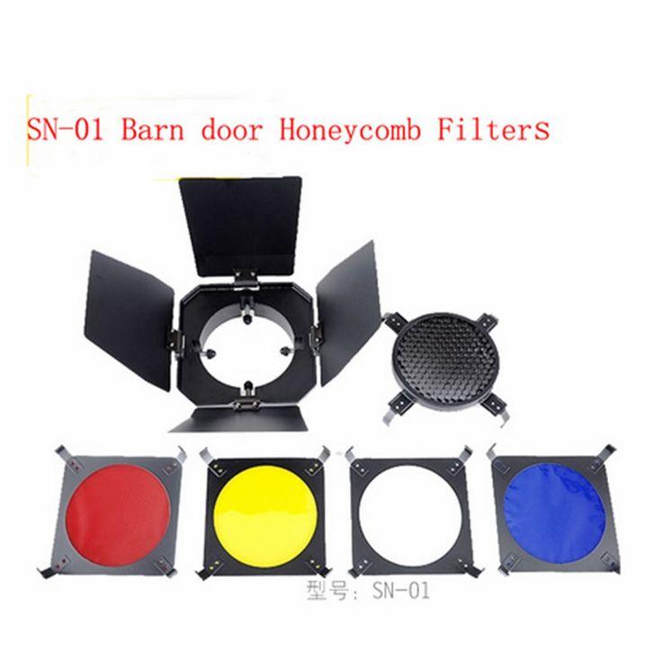Набор NiceFoto SN-01 шторки с цветными фильтрами и сотами
