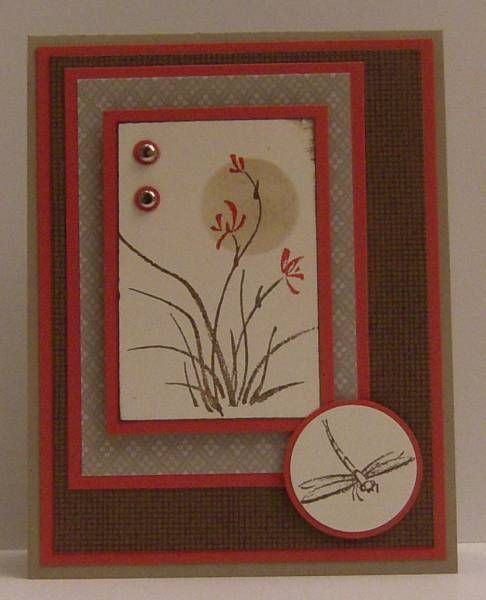 Asian Artistry in Suede by woodknot - Cards and Paper Crafts at Splitcoaststampers