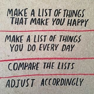 What makes you happy? #inspiration #motivation