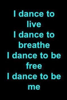 actually most of the time i forget to breathe when i dance