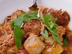 Slow Cooked Chicken And Chorizo Recipe - Chicken