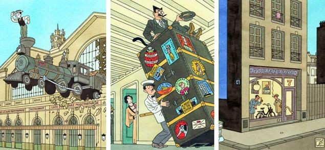 Nederlandse stripkunst van Joost Swarte te zien in Brussel - Nieuws - CVN