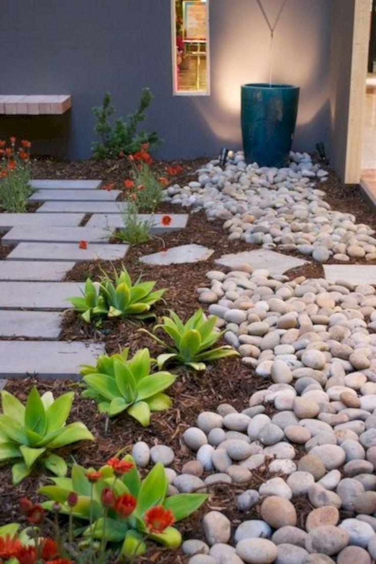 fine 15 Simple Low Maintenance Landscaping Ideas for Backyard and Frontyard #LowMaintenanceLandscaping